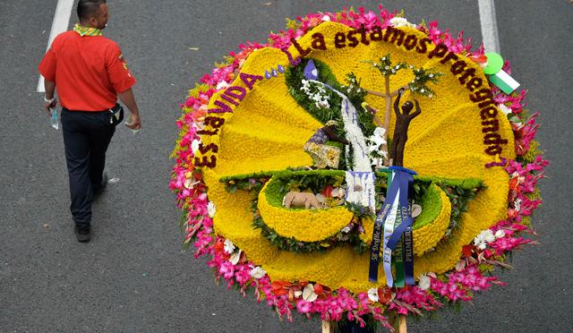 Desfile De Silleteros Cerr La Feria De Las Flores De