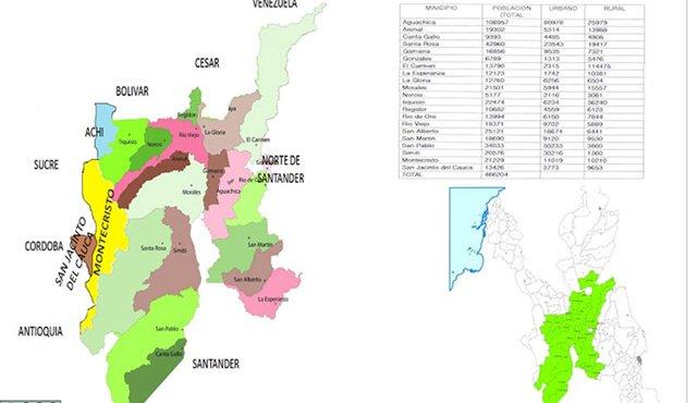 Dos municipios de Norte de Santander harían parte de un nuevo ...