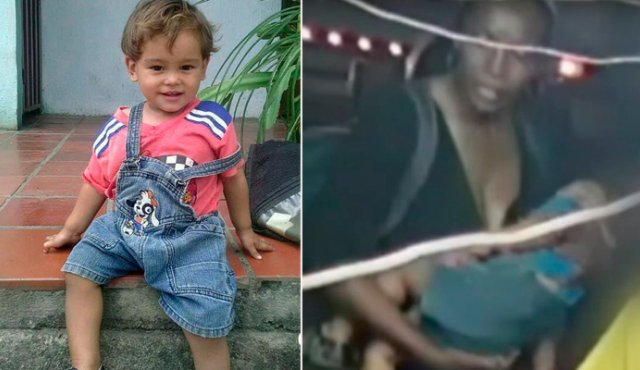 Niño colombiano hallado en Cuenca fue secuestrado por ecuatoriana