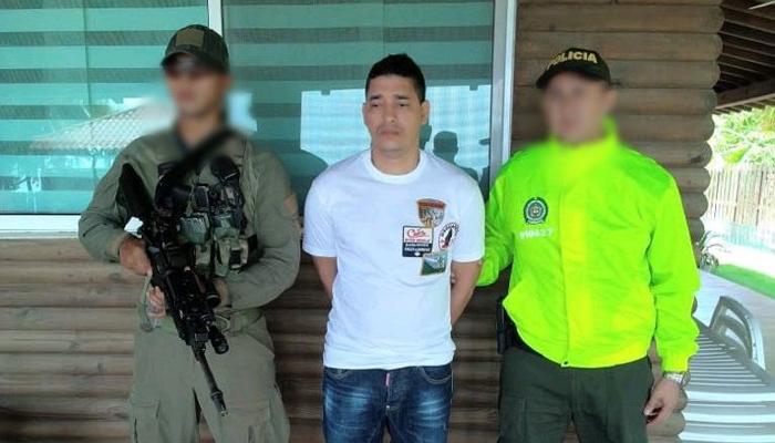 Colombia: Policía capturó a jefe de la organización de narcotráfico 'La Oficina'