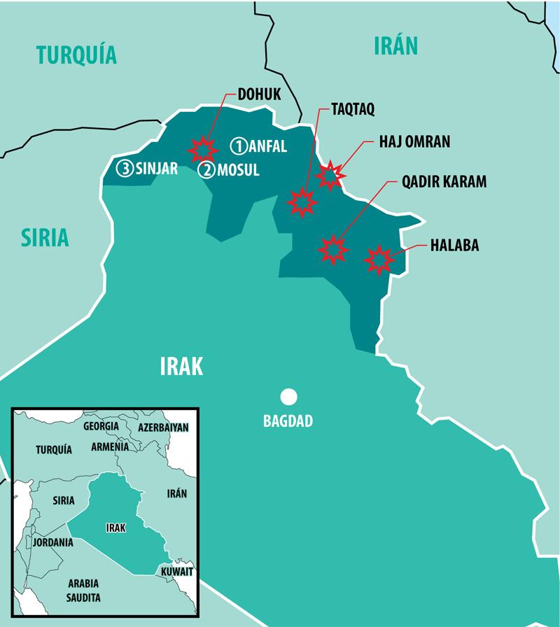 Kurdos: sobrevivientes a los genocidios 10