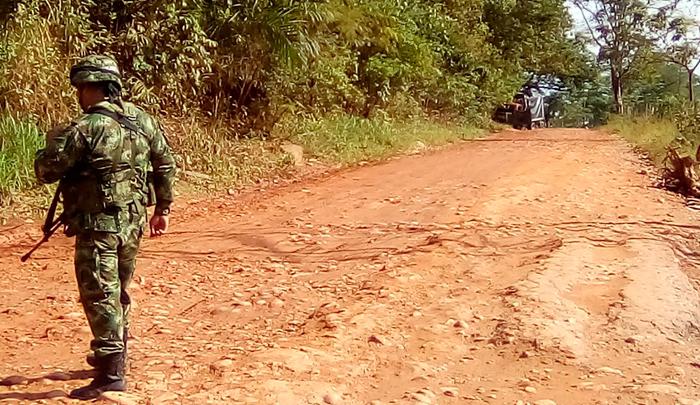 Dos militares muertos y tres más heridos en atentado en la vía a Tibú