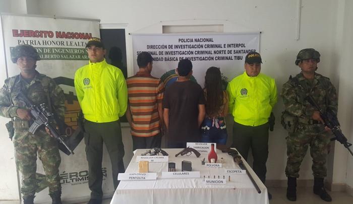Capturan a tres integrantes del Eln, señalados de cometer homicidios en Tibú - La Opinión Cúcuta