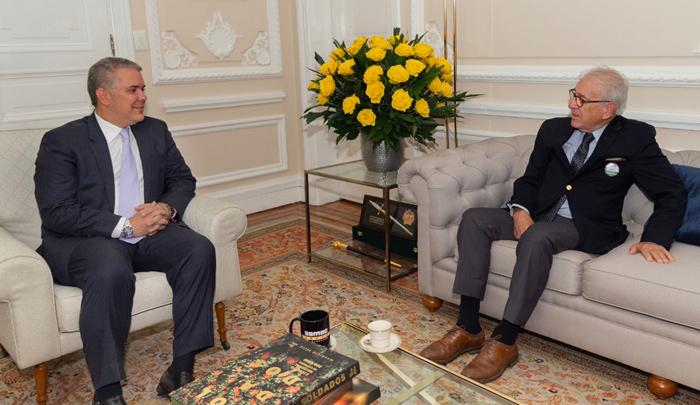 Yáñez habló con Duque de los proyectos claves para Cúcuta - La Opinión Cúcuta