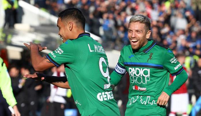 Muriel cerró la histórica goleada del Atalanta al Milan