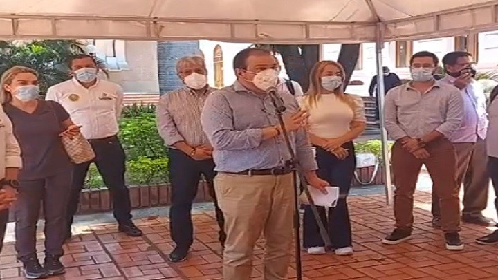 Gobernador Silvano Serrano confirma primer caso de variante británica en Cúcuta./FOTO: Cortesía