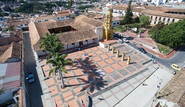 Vista aérea del Complejo Histórico. / Cortesía/ La Opinión