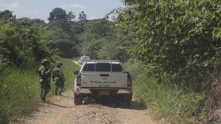 Aunque el Ejército y la Policía se mueven por algunas zonas, las acciones armadas de los grupos ilegales no se paran.